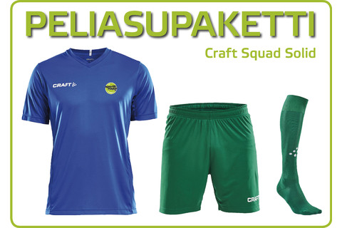 Peliasupaketti Craft Squad Solid