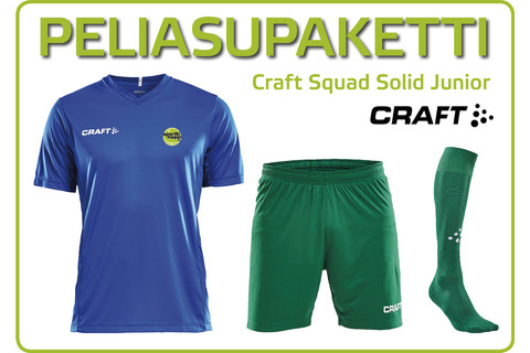Peliasupaketti Craft Squad Solid Junior