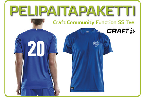 Pelipaitapaketti Craft Community Function