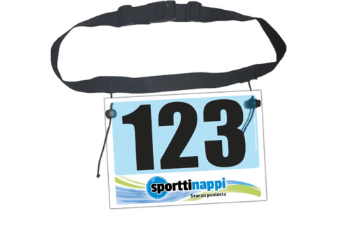 race number belt numerovyo